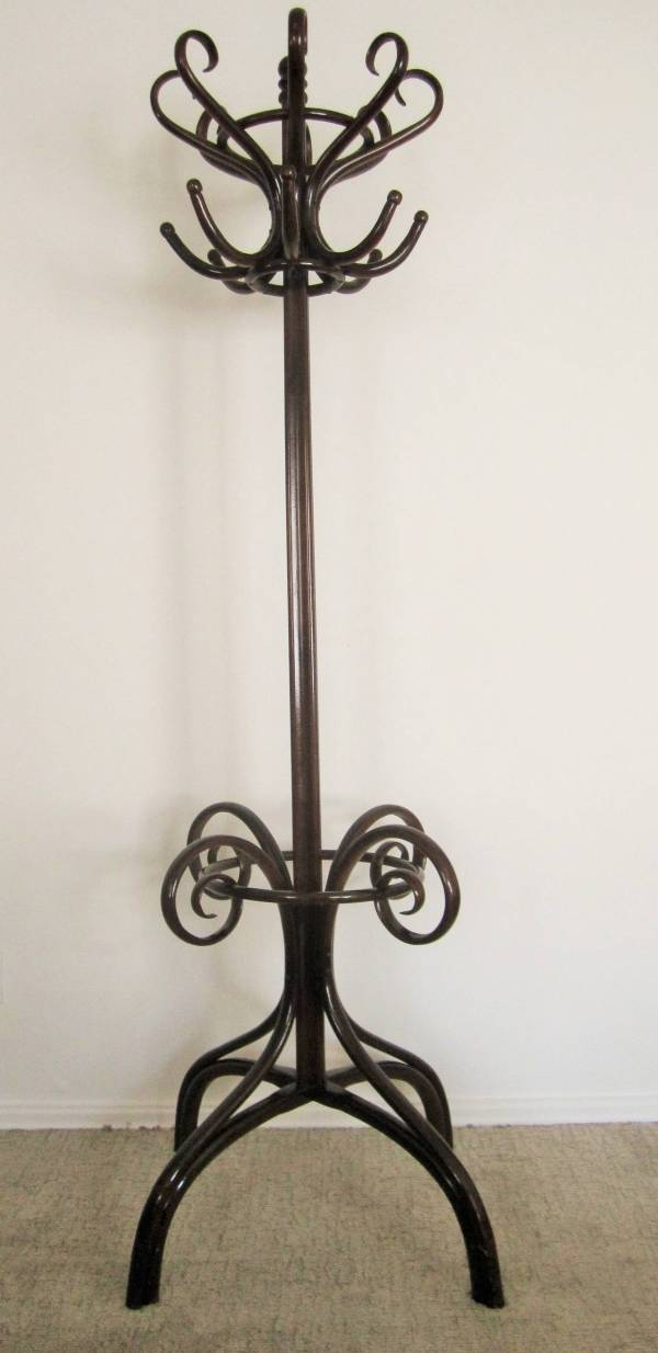 Beautiful Substantial Thonet Bentwood Coat Rack or Hall ...