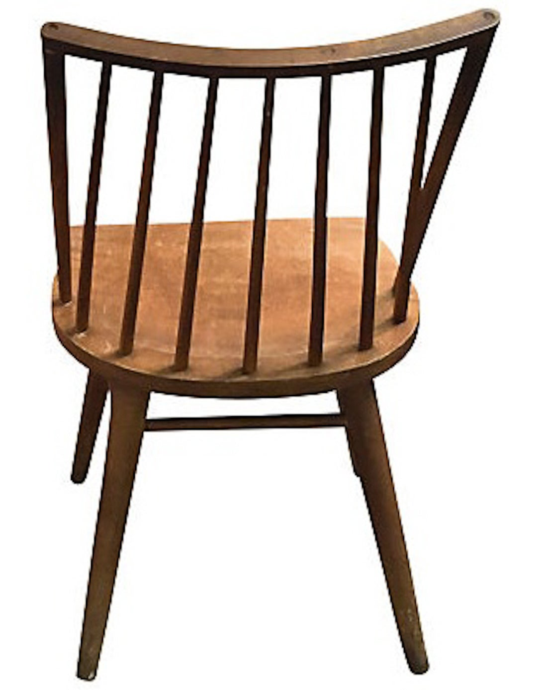 conant ball chair standard height set of four mid century russel wright chairs