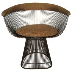 Wire Dining Chairs Revolving Chair For Sale Warren Platner Bronze At 1stdibs