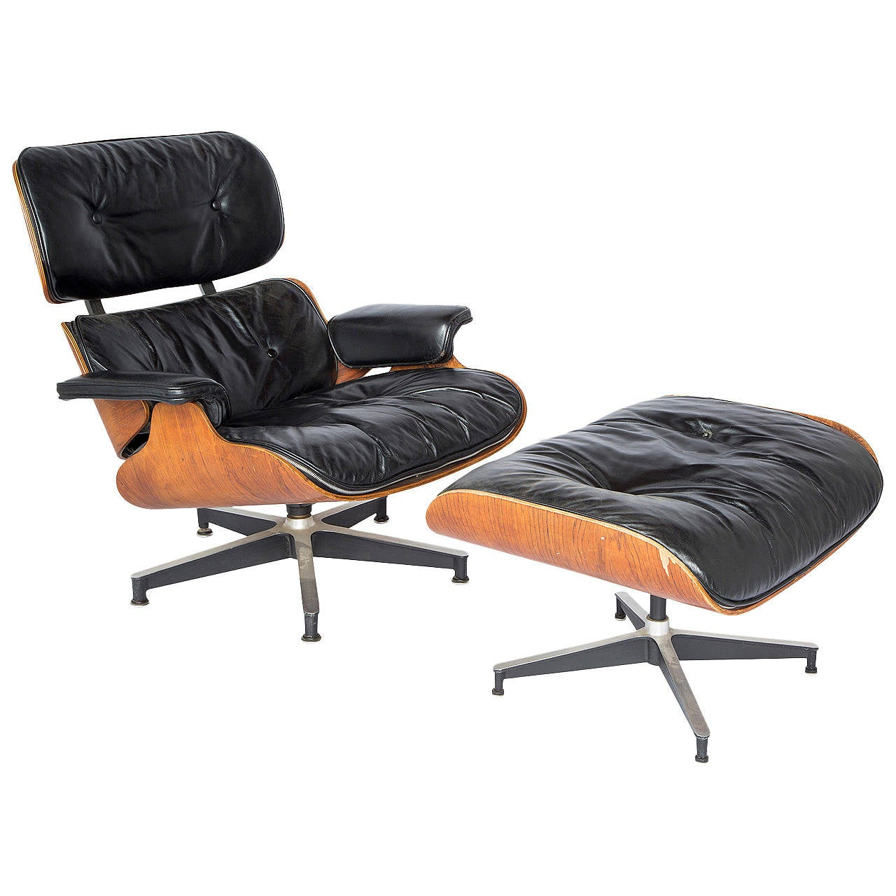 eames lounge chair for sale vibrating baby and ottoman at 1stdibs