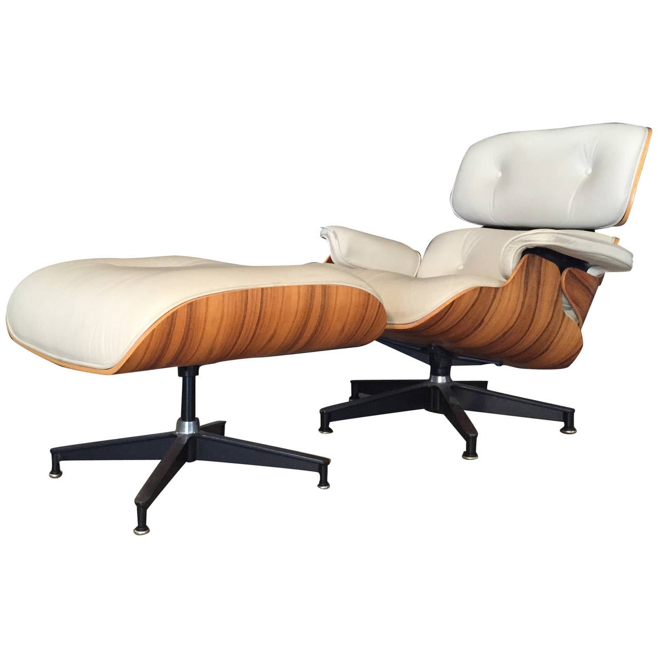 eames chair white weird pics lounge by herman miller in rare off