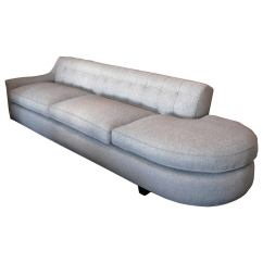 One Arm Sofa Name Sofas Conforama Grey At 1stdibs