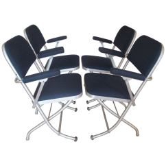 Nice Folding Chairs Lounge Chair Outdoor Set Of Four Deco By Warren Mcarthur At