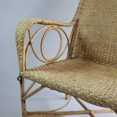Arm Chairs For Sale Chair Covers With Pockets Large Rattan Armchair At 1stdibs