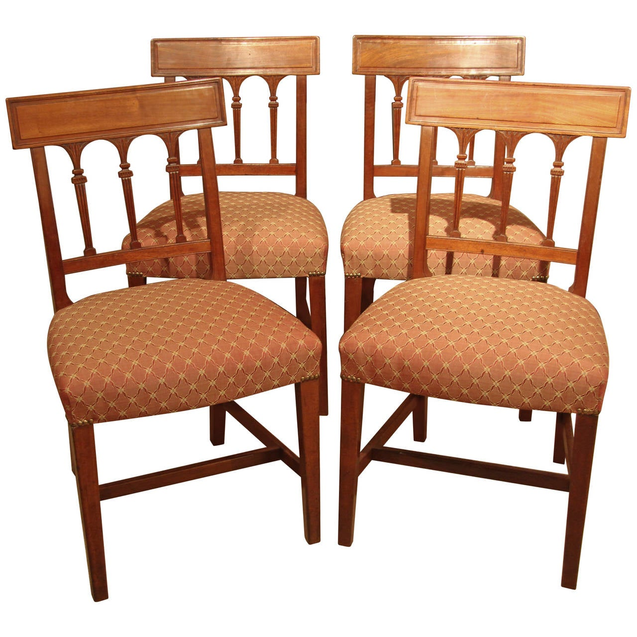 four chair dining set covers loveseat of regency chairs at 1stdibs