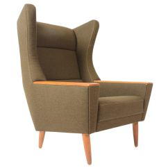 Modern Wingback Chairs For Sale Stair Chair Lift Prices Danish Oak And Olive Lounge