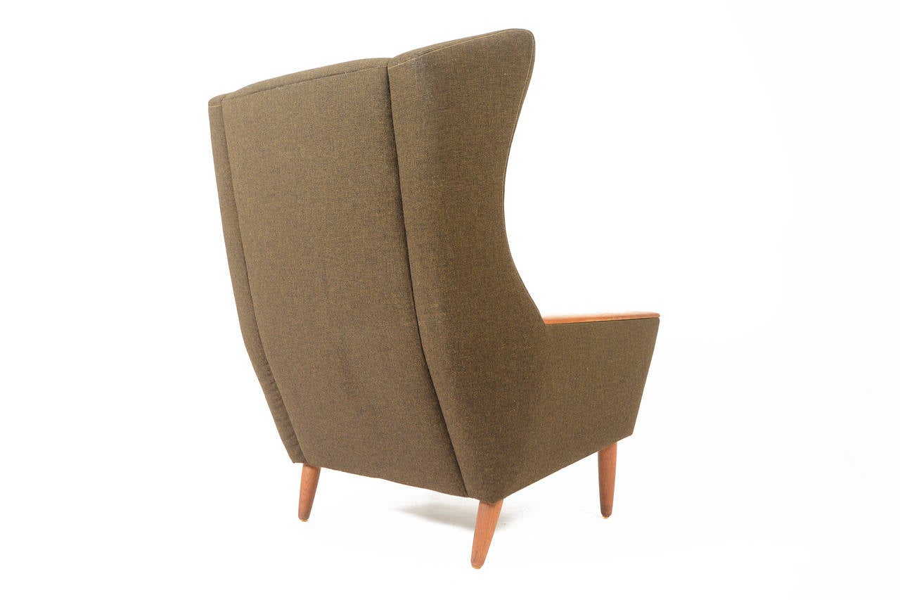 modern wingback chairs for sale amazon tables and danish oak olive lounge chair