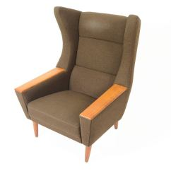 Modern Wingback Chairs For Sale Home Goods Kitchen Danish Oak And Olive Lounge Chair