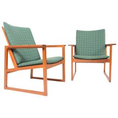 Teak Lounge Chair Folding Rocking Tractor Supply Pair Of Børge Mogensen Chairs For Sale At 1stdibs