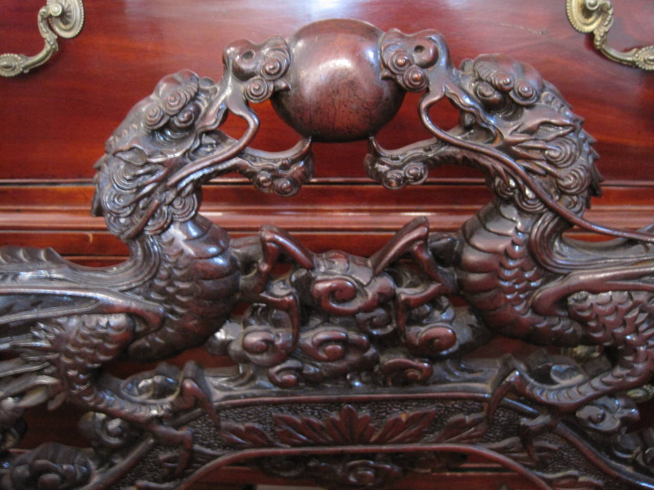 antique chinese dragon chair dog bailey for sale 19th century carved at 1stdibs circa 1840 this was most likely made in europe with