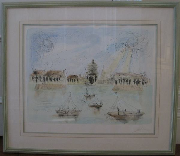 Salvador Dali Lithograph Hand Signed Limited Edition