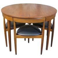Hans Olsen for Frem Rojle Teak Dining Table and Chairs ...
