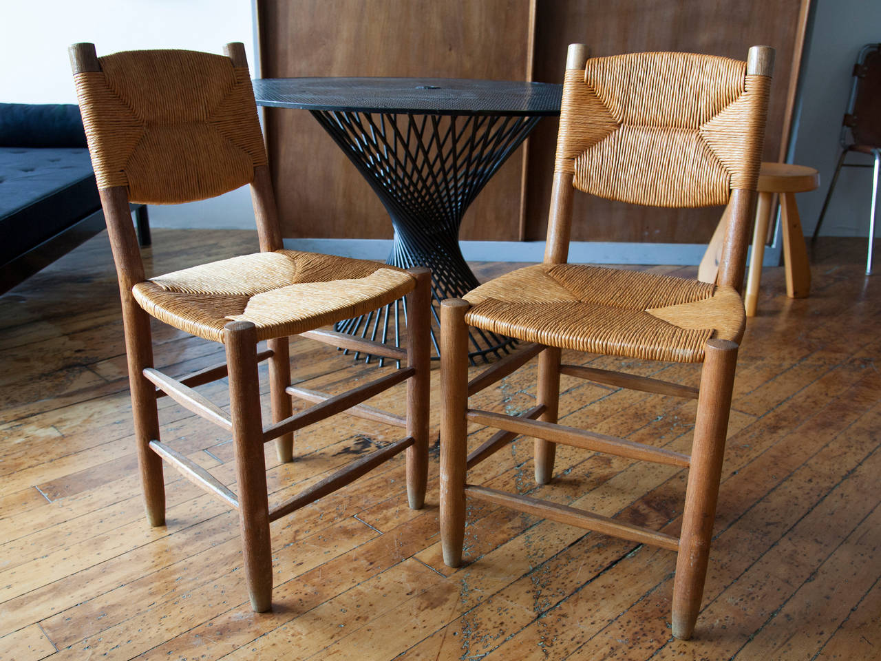 how to rush a chair wicker hanging chairs charlotte perriand oak and side for sale at