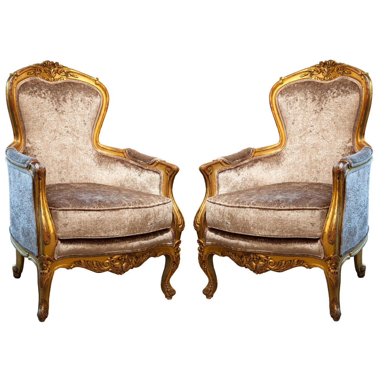bergere chairs for sale used portable massage antique french 19th c gilt wood at