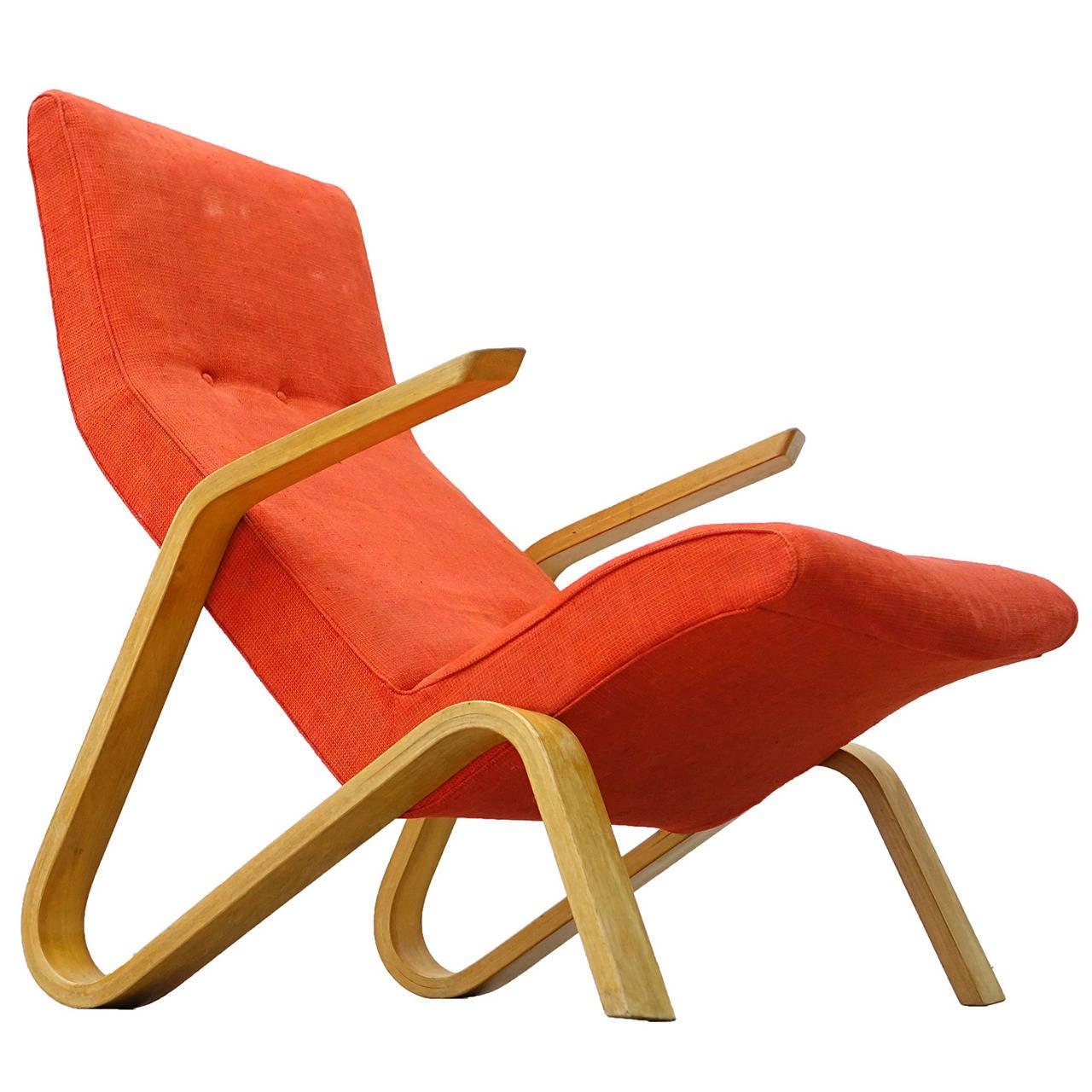 saarinen grasshopper lounge chair ikea chairs eero for knoll international 1946