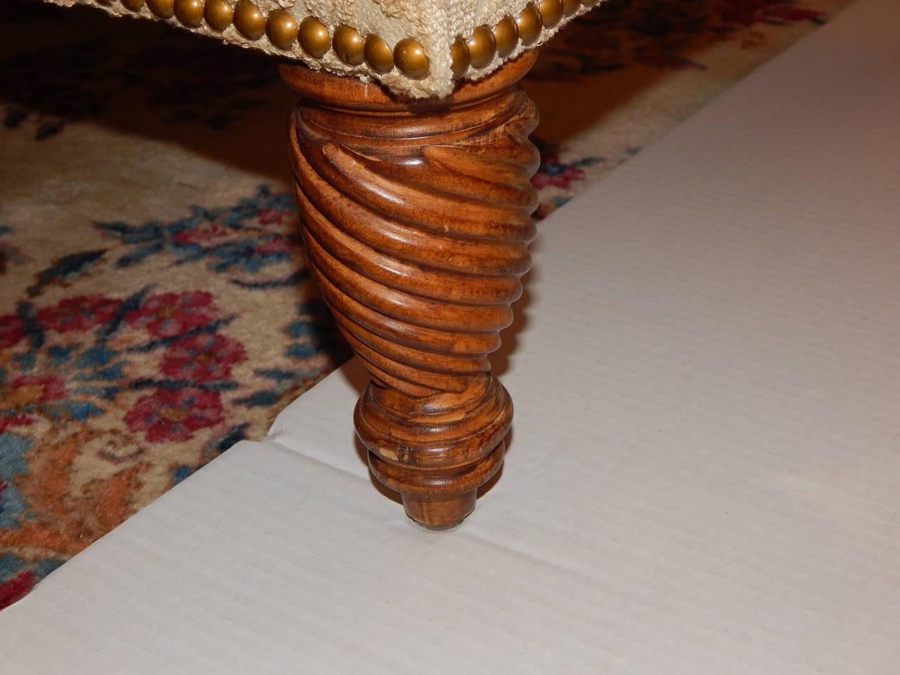 ferguson copeland leather sofa cheap fabric corner sofas glasgow regency style and love seat at 1stdibs