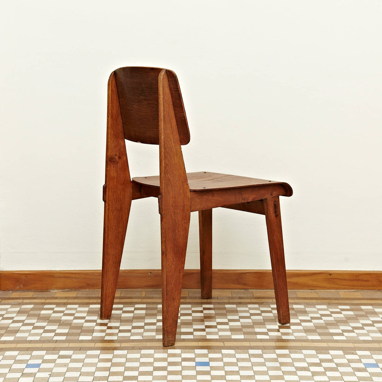 prouve standard chair the big jean prouvé quottout bois quot 1941 at 1stdibs