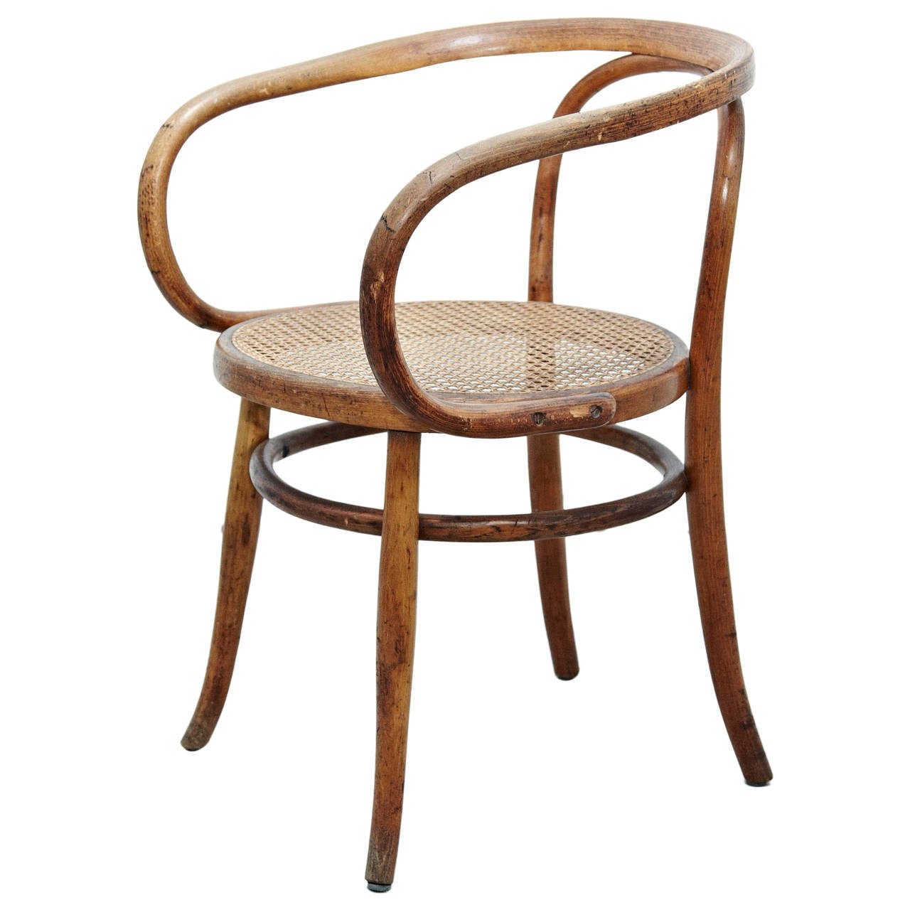 Bent Wood Chairs Thonet 209 Armchair By Auguste Thonet For Thonet Circa