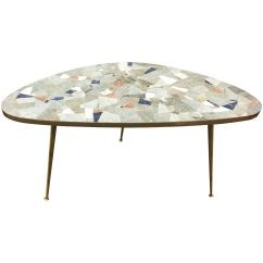 Artco Bell Chairs Chair Lift Stairs Medicare A Midcentury Kidney Shaped Mosaic Tile Table In The Manner
