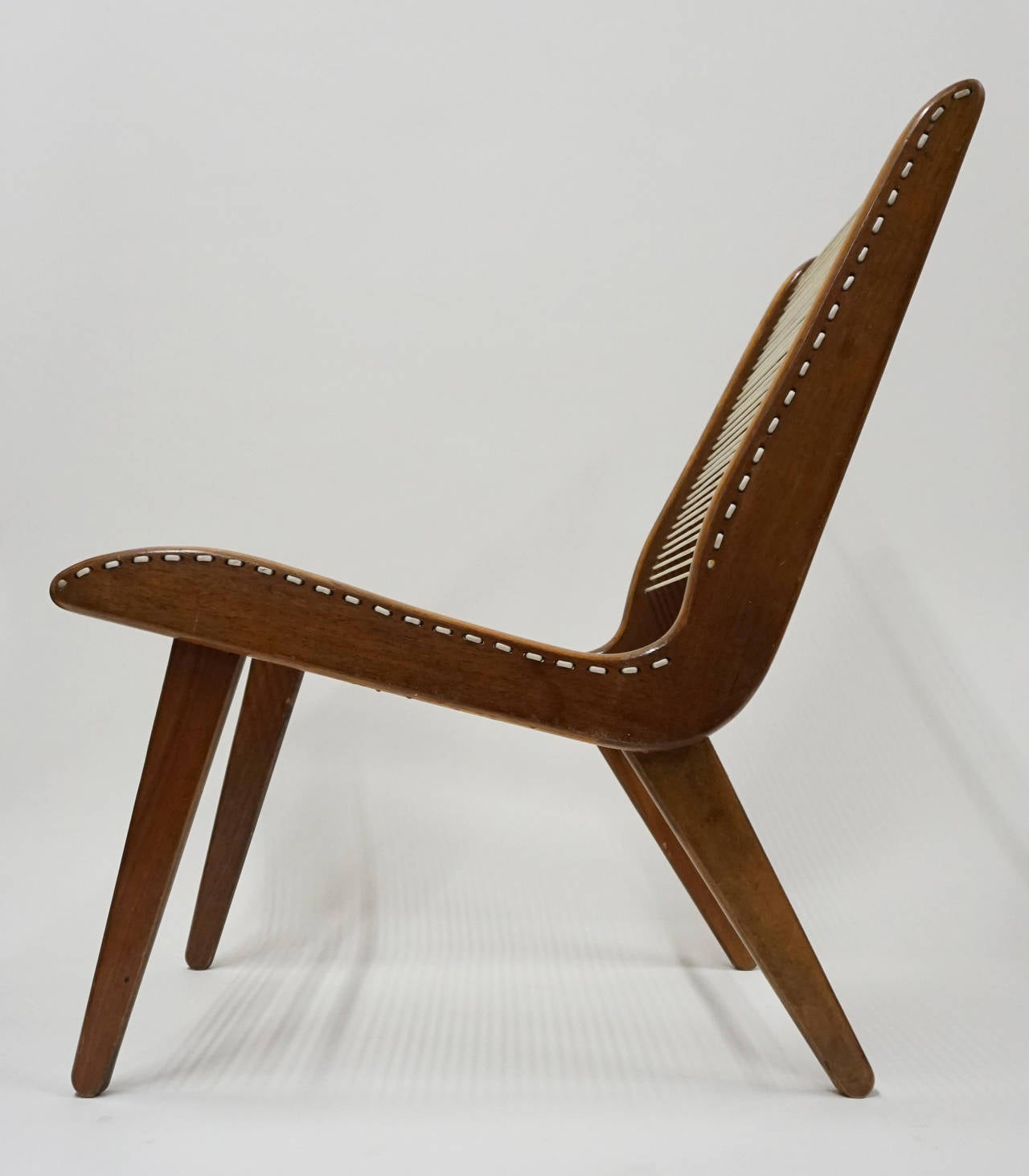 String Chair String Wood And Iron Chair By Carl Koch At 1stdibs