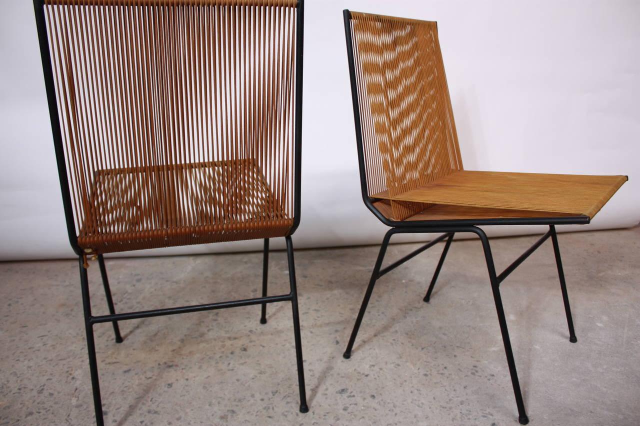 String Chair Pair Of Allan Gould String Chairs At 1stdibs