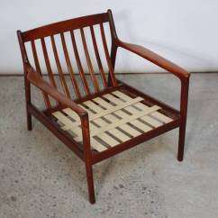 Modern Ball Lounge Chair Childrens Wooden With Rush Seat Danish In Velvet And Teak For Sale At