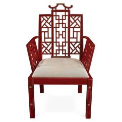 Red Chairs For Sale Chair Covers Set Of 6 Ming Chinoiserie Lacquer Dining At 1stdibs