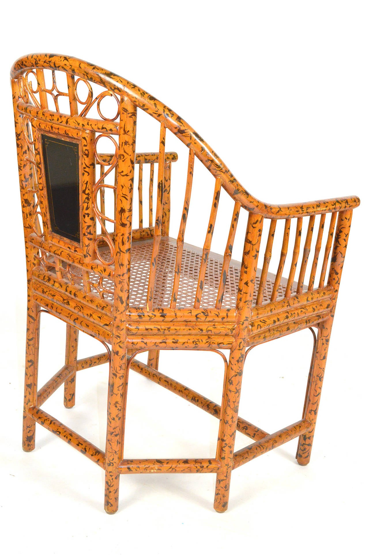 Pavilion Chair Pair Of Bamboo Chinese Export Style Brighton Pavillion