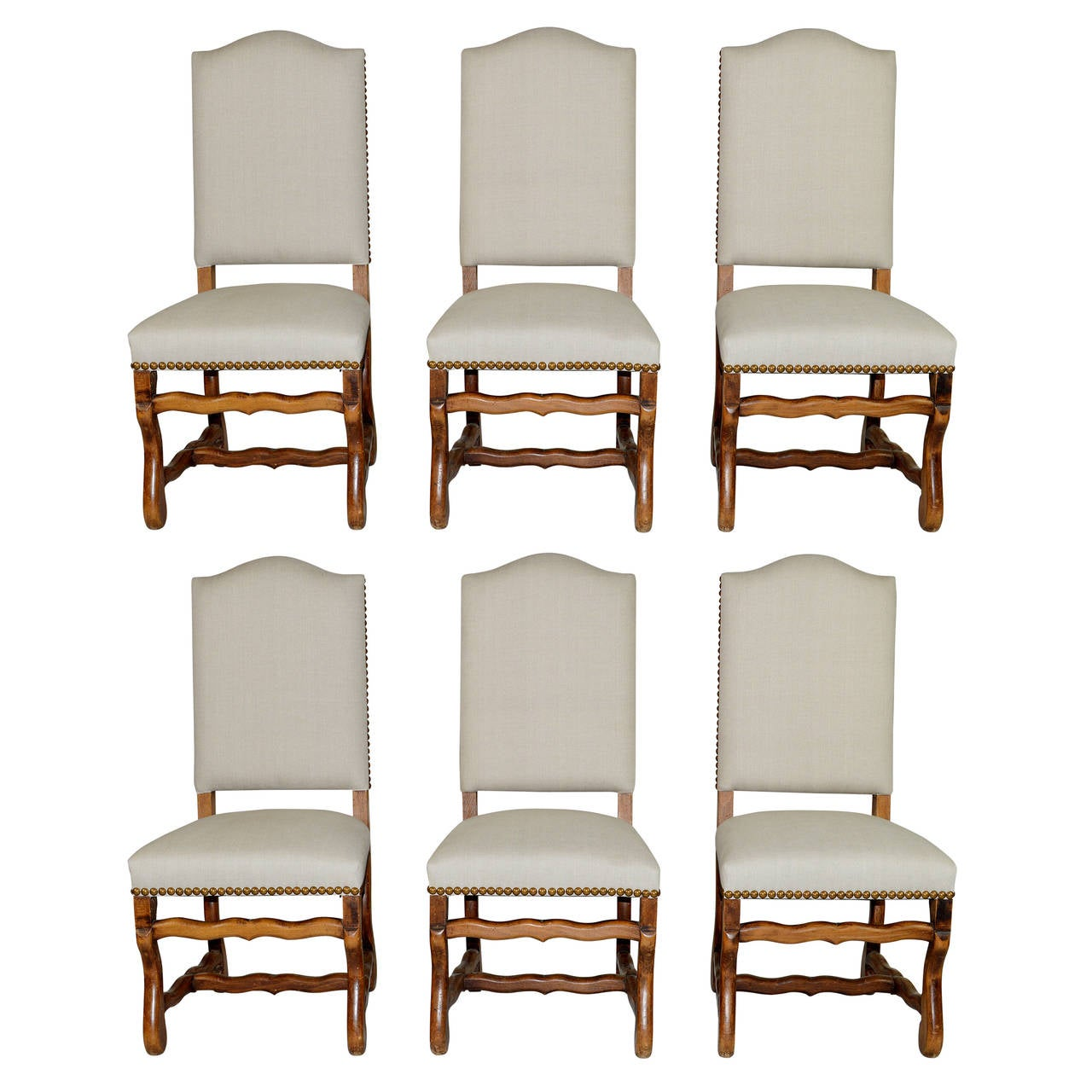 French Dining Chairs Set Of Six French Louis Xiv Style Dining Chairs At 1stdibs