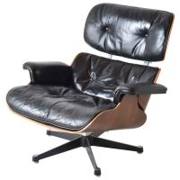 Iconic Eames Lounge Chair for Herman Miller at 1stdibs