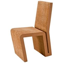Frank Gehry Cardboard Chair Bentwood Bistro Chairs Side In For Vitra Edition