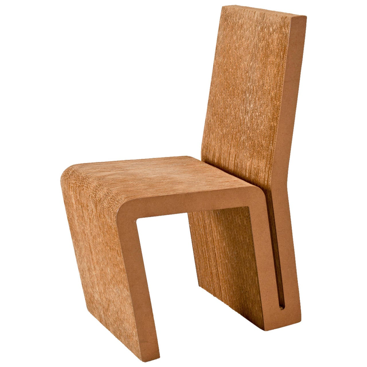 Cardboard Chair Frank Gehry Side Chair In Cardboard For Vitra Edition For