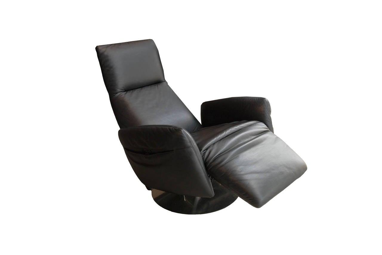 armchair pillow chair covers sale edmonton poltrona frau reclining for at 1stdibs