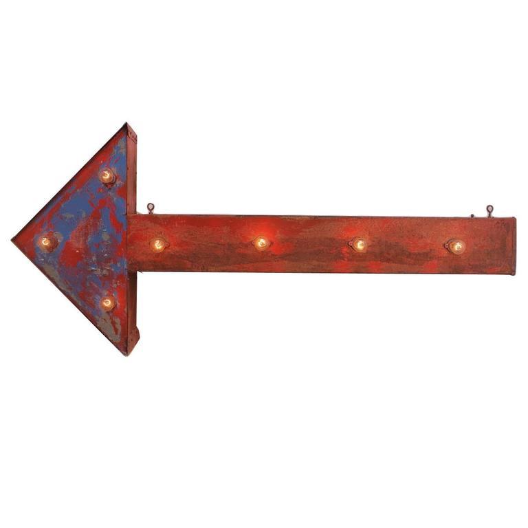 Vintage Arrow Sign