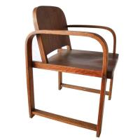 Midcentury Molded Plywood Side Chair at 1stdibs