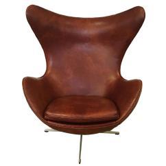 Arne Jacobsen Egg Chair Belmont Barber For Sale Produced By Fritz Hansen 1965