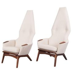 Adrian Pearsall Chair Outdoor Chaise Lounge Chairs Lowes Vintage High Back By At 1stdibs