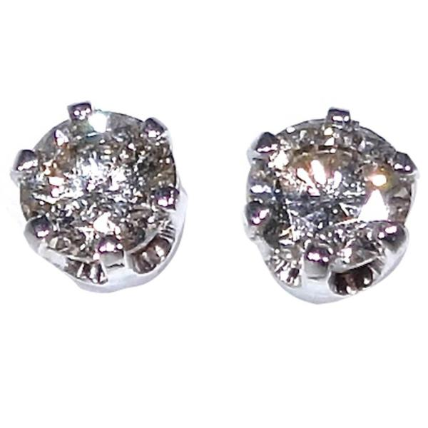 1 Carat Diamond Gold Stud Earrings 1stdibs