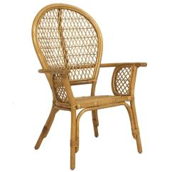 Child Size Rocking Chair Cushions Skirted Wingback Vintage Bamboo And Wicker Armed At 1stdibs