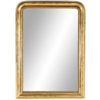 Large-Scale Giltwood Period Louis Philippe Mirror, France ...