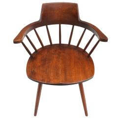 Captains Chair Dog Eating George Nakashima Captain 39s For Sale At 1stdibs