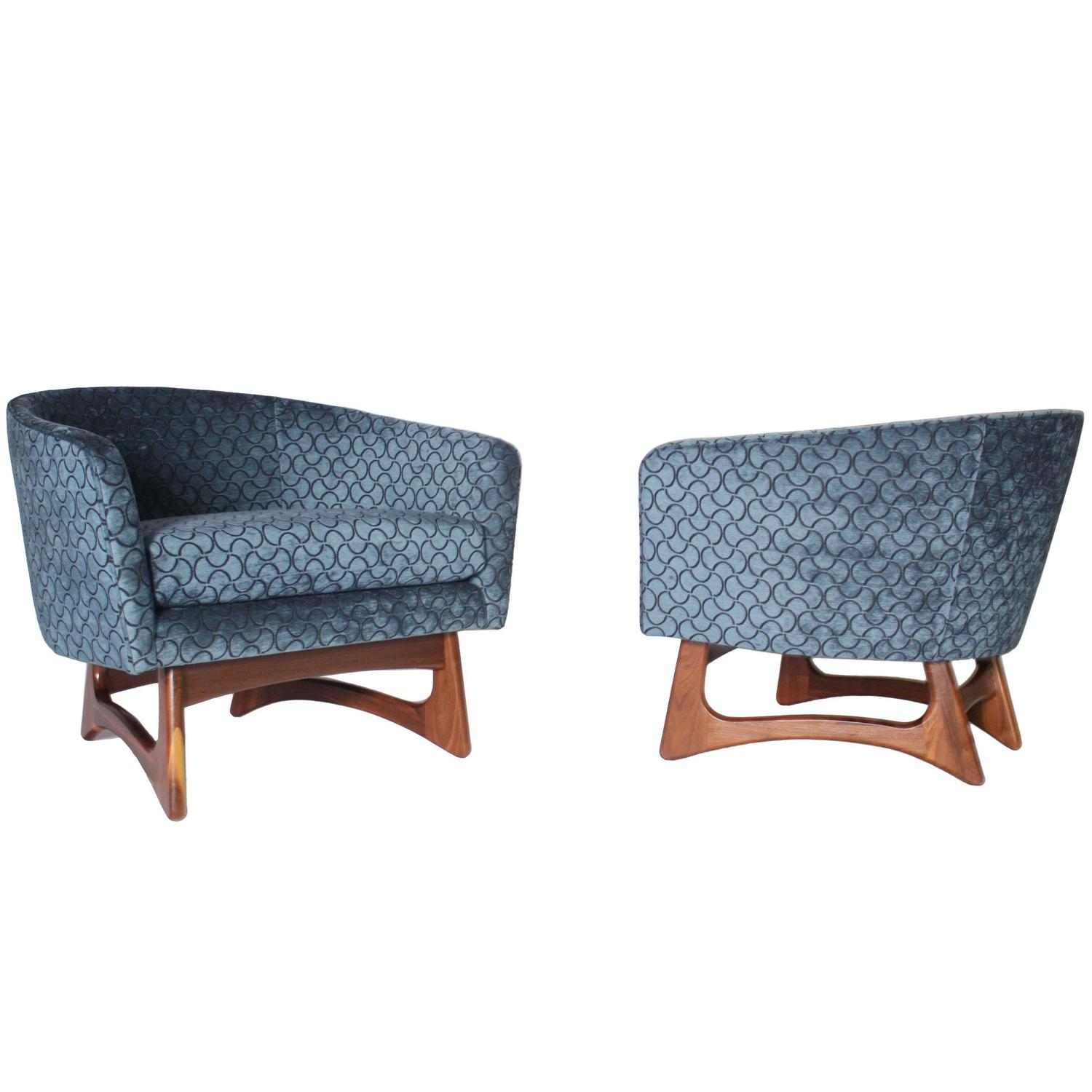 adrian pearsall chair baxton studio reviews wide barrel club chairs at 1stdibs