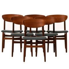 Danish Modern Dining Chair Ergonomic Dubai Set Of Six Chairs At 1stdibs