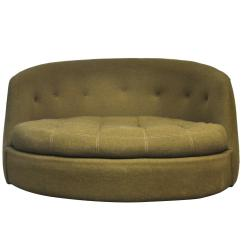 Swivel Chair Large Big Joe Lumin Multiple Colors Milo Baughman At 1stdibs