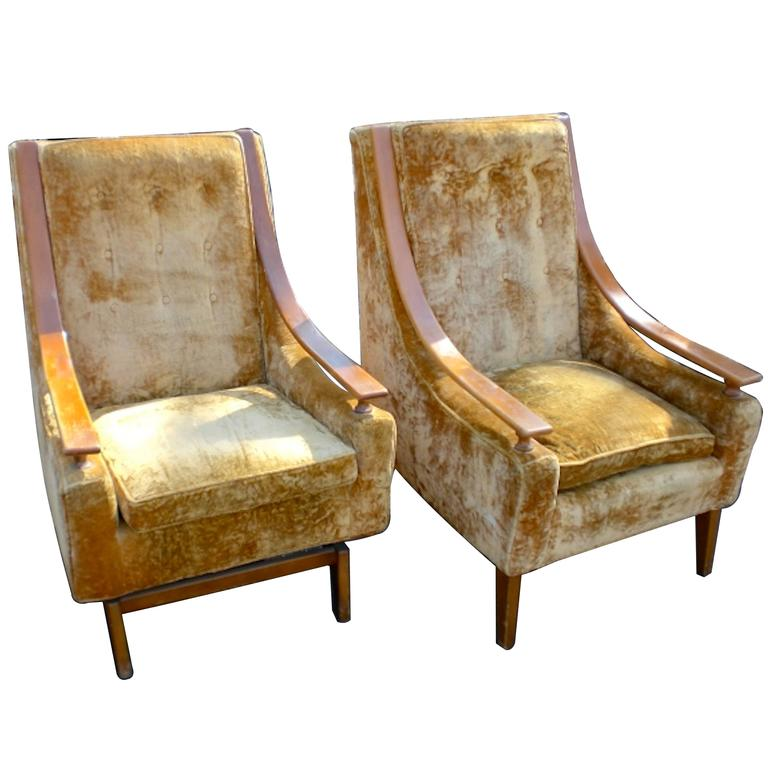 tall back chairs bedroom chair rail images mid century for sale at 1stdibs