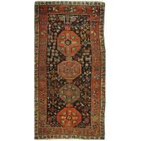 Antique Hand-Knotted Kurdish Rug at 1stdibs
