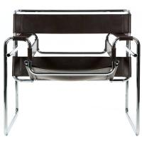 "Mid-Century Modern Tubular Leather Lounge ""Wassily"" Chair ..."