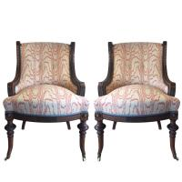 17th Century Victorian Walnut Nursing Chairs For Sale at ...