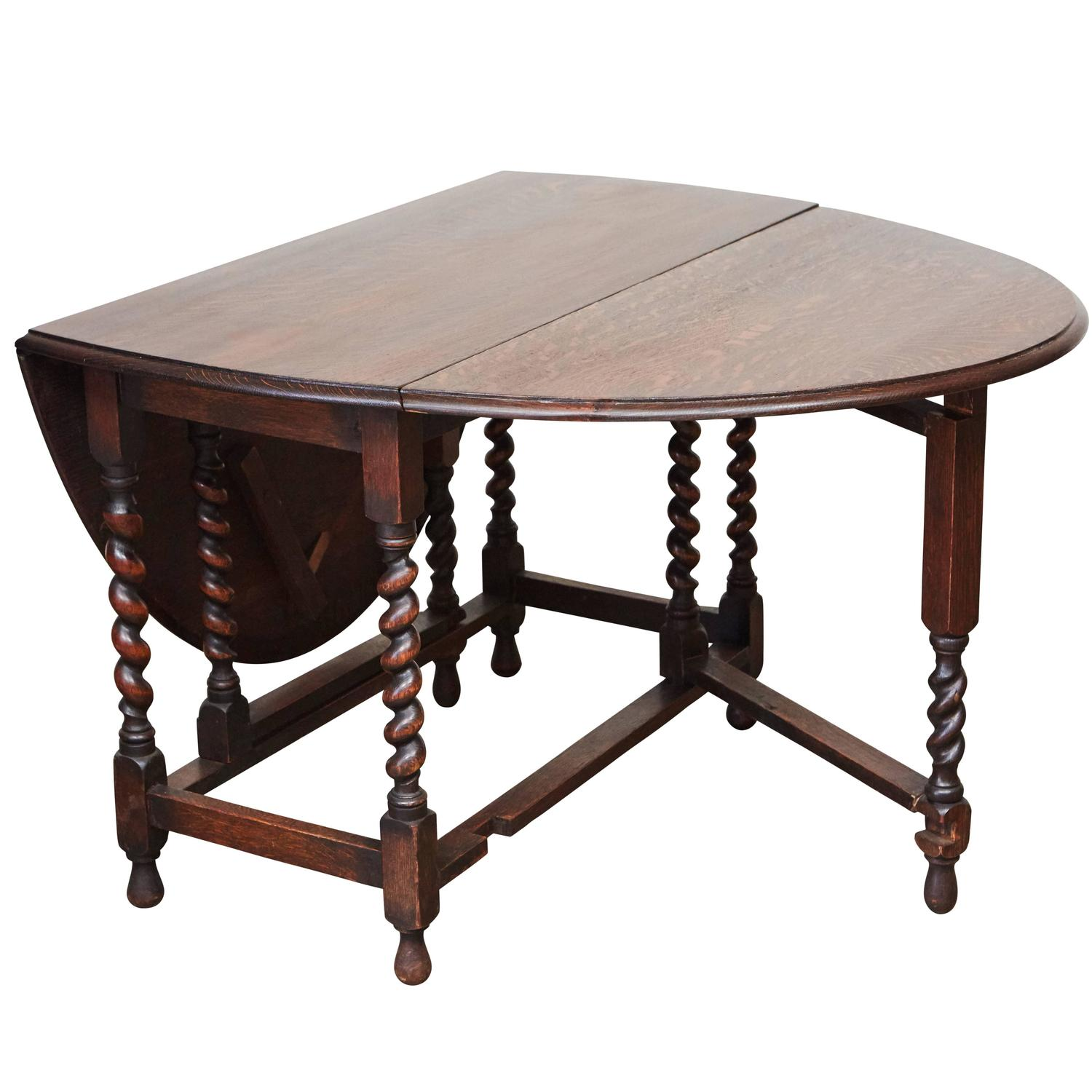 gateleg table with chairs racing seat office chair south africa english oak at 1stdibs