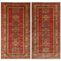 Pair of Very Fine Sherwan Rugs at 1stdibs